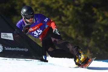 Mondiaux de surf des neiges Résultat crève-coeur pour Arnaud Gaudet)