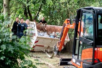 Affaire Maddie: fin des fouilles dans un jardin ouvrier allemand)