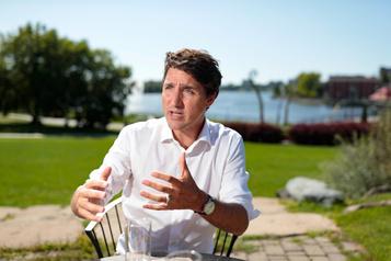 Justin Trudeau à LaPresse: les Canadiens feront «la part des choses»