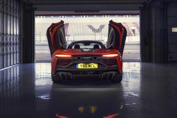 McLaren L'Artura ouvre un nouveau chapitre de l'histoire de McLaren)