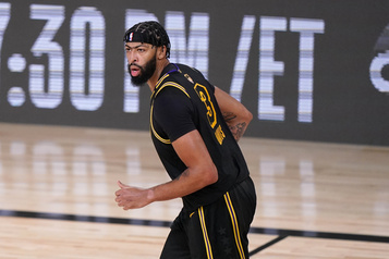 Finale de la NBA Anthony Davis a bien hâte d'avoir la chance de se reprendre)