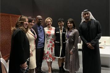 Danièle Henkel plaide l'autonomie financière des femmes à Dubaï