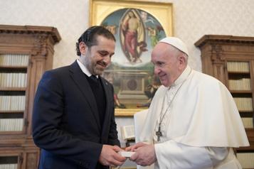 Le pape François souhaite se rendre au Liban dès que possible)