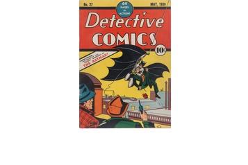 La première BD de Batman rapporte gros)