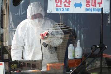 Coronavirus: un premier mort en Corée du Sud, plus de 100personnes contaminées