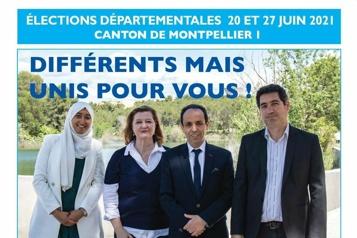 France Une candidate voilée fait polémique )