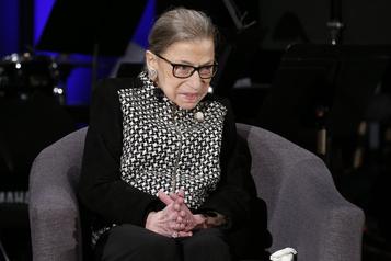 Cour suprême des États-Unis La juge Ruth Bader Ginsburg s'éteint à l'âge de 87ans)