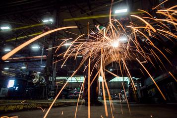 Baisse généralisée de la production dans le secteur manufacturier)