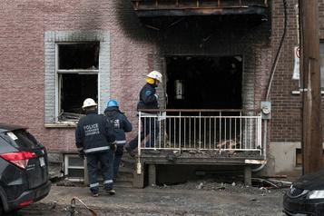Un blessé grave dans un incendie à Montréal