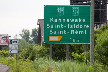 Le territoire de Kahnawake interdit aux non-résidants)