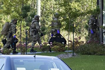 Lettre empoisonnée envoyée à Trump Opération de la GRC à Saint-Hubert)