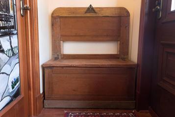La bonne idée: les meubles en bois recyclé)