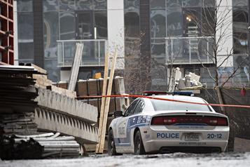 Un travailleur victime d'une chute mortelle à Montréal