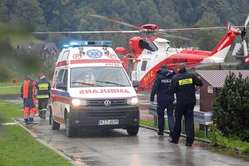 La foudre fait au moins cinq morts sur les monts Tatras