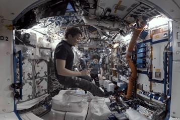 L'INFINI à Arsenal Montréal Cet été, la station spatiale sera àGriffintown! )
