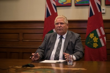 Ontario Doug Ford procède à un important remaniement de son conseil des ministres)