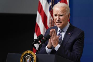 Joe Biden exhorte le Congrès à adopter «rapidement» son plan de relance)