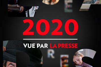 L'année 2020 vue par La Presse)