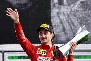Leclercoffre à Ferrari sa première victoire en Italie depuis 2010