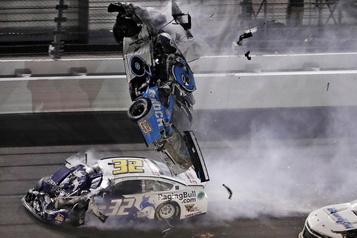 Ryan Newman a subi une blessure à la tête à Daytona