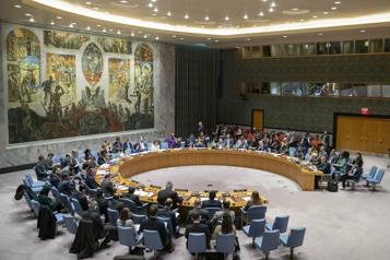 Crise des sous-mains Menace de dysfonctionnement accru au Conseil de sécurité de l'ONU )