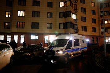 La police russe perquisitionne chez l'opposant Alexeï Navalny )