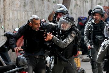 20 morts à Gaza, barrage de roquettes sur Israël et 500blessés à Jérusalem)