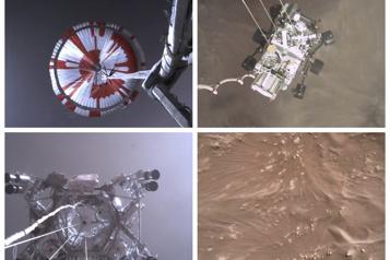 Planète Mars La NASA publie une vidéo de l'atterrissage de Perseverance)