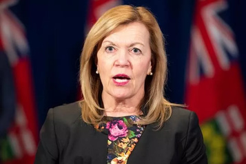COVID-19: l'Ontario à un «point critique», selon la ministre de la Santé)