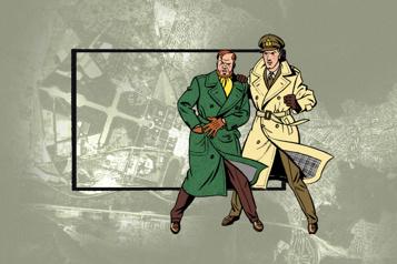 Bande dessinée Sur la piste de Blake et Mortimer… avec StreetView )