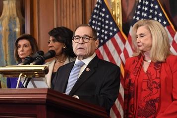 Trump visé par une mise en accusation historique au Congrès