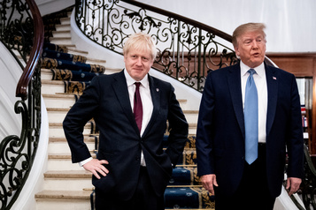 Boris Johnson estime que Trump peut négocier un «meilleur accord» nucléaire avec l'Iran