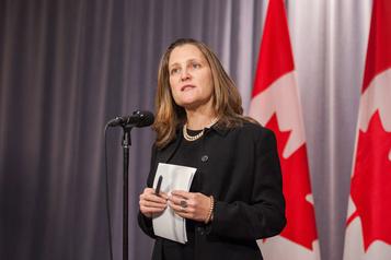 Pas «d'échange de prisonniers» avec la Chine, dit Ottawa