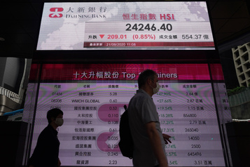 Mesures ciblées de Washington L'action du chinois Smic plonge à Hong Kong)