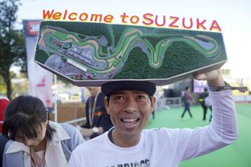 Le Grand Prix du Japon tenu à Suzuka jusqu'en 2024)
