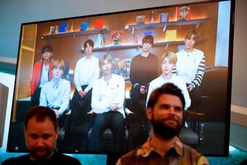 BTS dévoile un projet artistique à Londres