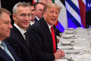 Les 70 ans de l'OTAN assombris par la colère de Trump