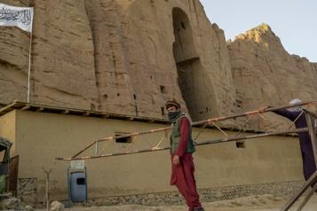 Les talibans veillent sur le site des Bouddhas de Bamiyan
