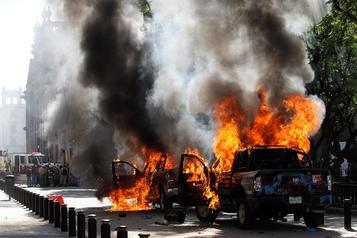 Mexique: heurts après la mort d'un jeune arrêté par la police)