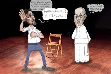 Trudeau veut des excuses du pape François)