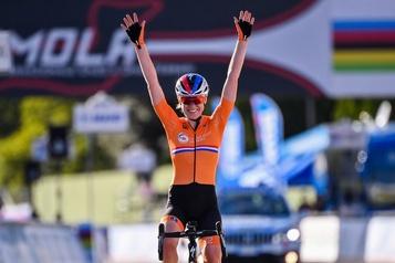 Mondiaux de cyclisme sur route Anna Van derBreggen remporte la course sur route)