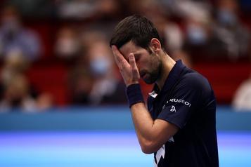 Tournoi de Vienne Djokovic balayé par Sonego, 42e mondial, en quarts de finale)