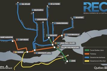 Troisième lien Le tunnel Québec-Lévis sortira à ExpoCité)