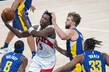 Anunoby et les Raptors viennent à bout des Pacers)