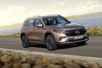 Mercedes-Benz L'EQB sera une porte d'entrée électrique du constructeur)