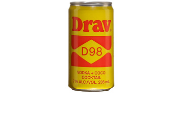 Menaud DravD98, cocktail à brasser)