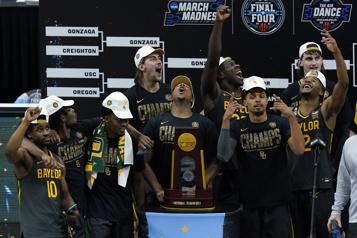 Championnat de la NCAA L'Université Baylor est championne)
