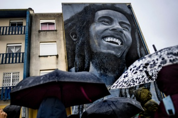 Quarante ans après sa mort, Bob Marley plus que jamais au firmament)