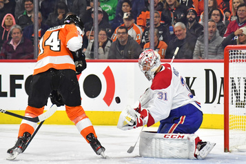 Canadien 4 - Flyers 1 (pointage final)