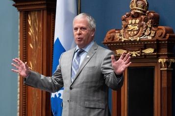 Décorum à l'Assemblée nationale: François Paradis s'en lave les mains